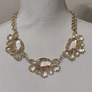 Women's statement adjustable necklace